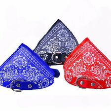 New Pet Dog Cat Bandana Scarf Collar Large Adjustable Neckerchief Pet Collars