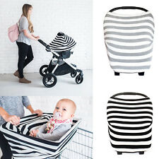 Multi-Use Stretchy Breathable Baby Car Seat Canopy Nursing Shopping Cart Cover