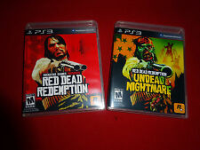 Empty Replacement Cases! - Red Dead Redemption Nightmare Sony PlayStation 3 PS3