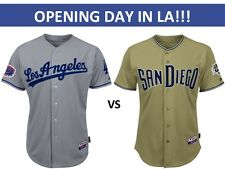 2 DODGERS vs SAN DIEGO PADRES - OPENING DAY 4/3-INFIELD RESERVE 24 - FRONT ROW!