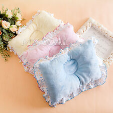 Newborn Baby Infant Soft Velvet Sleep Roll Pillow Support Cushion Anti-Flat Head