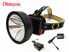 Ohmycos Rechargeable Hunting Headlight Camping Head Light Outdoor Torch