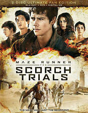 Maze Runner: The Scorch Trials Blu-ray Disc, 2015, 2-Disc Set