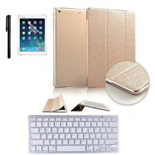 Ultra Slim Magnetic Smart Standing Cover w/ Bluetooth Keyboard For iPad Pro 9.7""