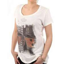 BLAUER USA Ladies T-Shirt MC in White