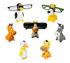 WEDO animal Glasses holder NIP merry Glasses-noses Donkey Horse Dog Cow