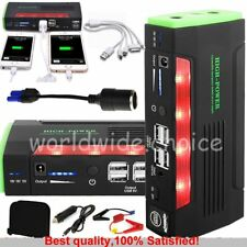 3LED Torch 68800mAh Car Jump Starter Booster Power bank Battery Charger Vehicle