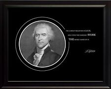 Thomas Jefferson Photo Picture, Poster or Framed Famous Inspirational Quote