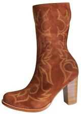 Femme chaussures bottes cuir western model Perry Eu 33 to 44