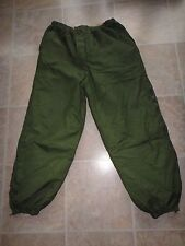 British Army Softie Trousers Thermal Reversible Stuff Sack Used 3/4 Zips