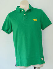 Superdry Mens Polo T - Shirt - GREEN - SIZE -  S, L , XL  & XXL - NEW