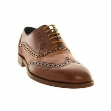 BARKER GRANT LEATHER SHOES - 3372GW54 - Brown - Mens