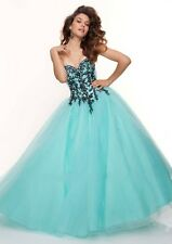 Sweetheart Black Appliques Ball Gown Handmade Quinceanera Dresses Custom Made