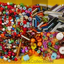 #6/0 - #10/0 & Bugle/Tube - Promotion Glass Seed Beads - 200grams / 7ozs per Bag