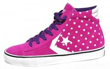New Women's Converse Chuck Taylor Shoes All Star Pink Mid Sneakers -139693