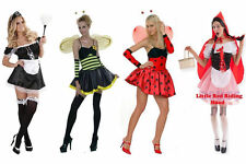 YUMMY BEE MAID FANCY DRESS COSTUME OUTFIT WAITRESS HEN ROCKY RIDING HOOD BUG NEW