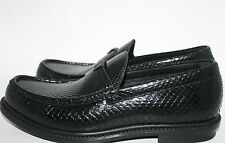 NIB YVES SAINT LAURENT MEN LOAFERS SLIP ONS PYTHON KENNEDY SHOES SZ 42