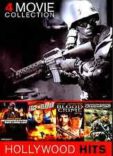 Contractor/Face of Terror/Blood Crime/Crash Point (4-Movie, 2-DVD Box Set)