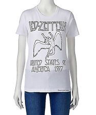 Led Zeppelin T-Shirt US Tour 1977 metal rock Girls tee Official M L NWT