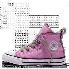 Converse Chuck Taylor All Star Simple Step Velcro Toddler High Top Icy Pink Girl