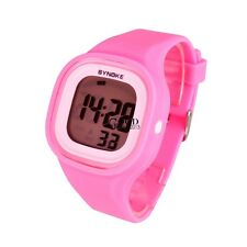 New Fashion Waterproof Silicone Candy Color Square LED Digital Sport Wrist TXGT