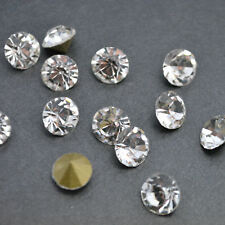 Crystal Clear Point back Rhinestones Glass Chatons Strass Beads Nail Art C1