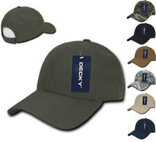 DECKY Military Camo Army Woodland ACU Low Crown Structured Ripstop Hats Caps