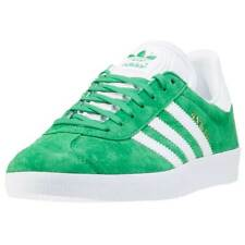 adidas Gazelle Womens Trainers Green New Shoes