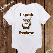 I Speak Ewokese Star Wars Ewok Funny Baby Clothes Baby Girl/Boy Unisex onesie