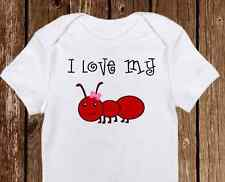 I love my Aunt Baby Onesie - onesies - Cute Baby Girl Clothes - Baby Shower Gift