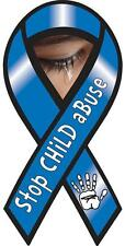 "4""-10"" STOP CHILD ABUSE Awareness CAR RIBBON MAGNET protect kids"