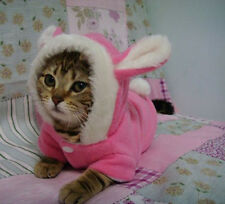 Hot! Pet Cloth Cute Rabbit Ear Cosplay Funny Cool Christmas Small Cat Dog Hoodie