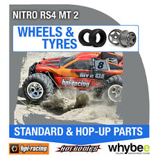 HPI NITRO RS4 MT 2 [Wheels & Tyres] Genuine HPi 1/10 R/C Scale!