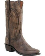 Mens Lucchese Clint Pearl Leather Western Cowboy Boots 8-13 D N1656.74