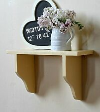 Pine shelf,country kitchen rustic shabby chic painted shelving