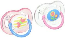 Philips AVENT Orthodontic Pacifier, Pink Butterfly and Flower, 18 Plus Months