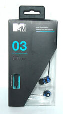 MTV 03 STEREO EARPHONE EARBUDS HIGH-PERFORMANCE WITH MINI MIC