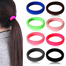 Fad Fashion Women Girl Hair Band Ties Elastic Rope Ring Hairband Ponytail Holder