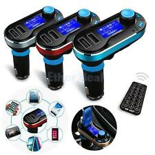 Car Kit MP3 Player Wireless FM Transmitter Modulator USB SD LCD Car Charger