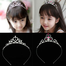 Elegant Wedding Flower Girl Crown Tiara Crystal Princess Headband Jewelry Gift