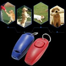 Click Dog Pet Clicker Guide Training Whistle