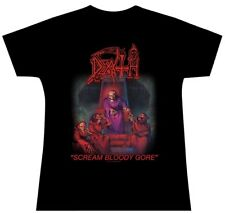 Death Scream Bloody Gore Girls Womens Ladies Shirt S L Official T-Shirt New