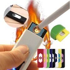 No Gas USB Electronic Rechargeable Battery Flameless Cigarette Lighter Lot XP
