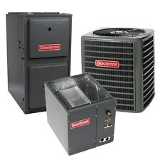 2.5 Ton 13 SEER 92% AFUE Single Stage Gas Furnace Air Conditioner System, Upflow