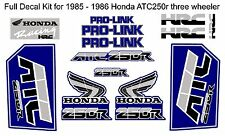 Full Decal fit for 1985-1986 Honda ATC 250r three wheeler -  atc250r 250r