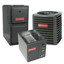 2.5 Ton 13 SEER 92% AFUE Single Stage Gas Furnace, AirConditioner System- Upflow