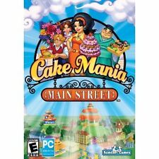 CAKE MANIA Main Street PC game NEW XP Vista 7 ~FREE 1ST CLASS SHIPPING!~