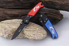 Outdoor Camping Rescue Tool Folding Knife Pocket Fruit Knife Sharp Blade Gift