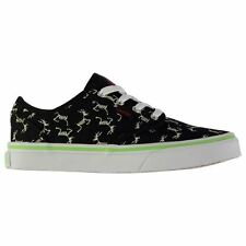 Kids Canvas Lo Vans Atwood Glow in the Dark Shoes Boys New