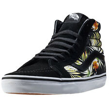 Vans Sk8-hi Reissue Decay Palms Mens Trainers Black Print New Shoes